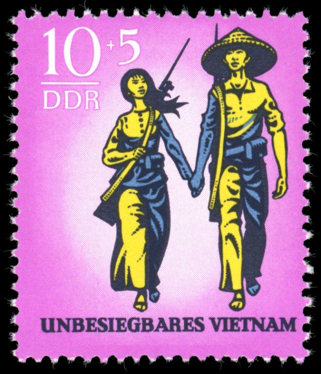 DDR Briefmarke